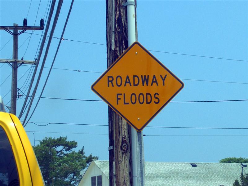 Roadway floods