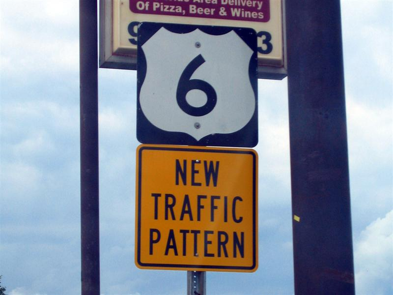 New traffic pattern